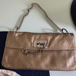 Metallic Michael Kors purse